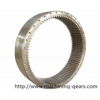 Wholesale Forging Steel Internal Gear , Mining Machinery Transmission Ring Gear from china suppliers
