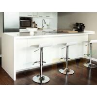 Quality Glossing white kitchen cabinets lacquer glazed kitchen cabinet for sale