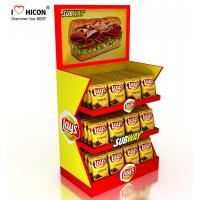 Wholesale Make Impression Retail Store Fixtures Delicious Snacks Potato Chips Counter Display Rack from china suppliers