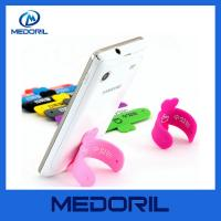 Wholesale Customized silicone one touch mobile phone display stand holder for wholesale from china suppliers