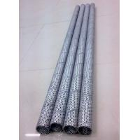 Wholesale Polished Stainless Perforated Metal Tube For Water And Gas Treatment Equipment from china suppliers