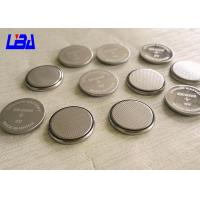 Quality Li-MnO2 CR2025  Coin Cell Battery , Rechargeable 3v Lithium Battery Silver Color for sale