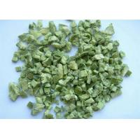 Quality Crop Dehydrated Green Bell Pepper Dried AD Green bell Pepper granules​ for sale