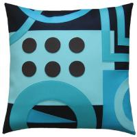 Quality 16 Inch Polyester / Cotton Home Decor Pillows Sublimation Printing for sale