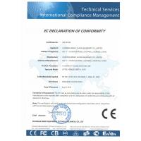 Liaoning Bright Shine Machinery Co.,Ltd Certifications