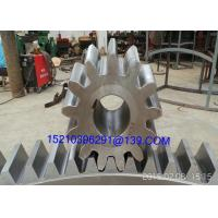 Wholesale Large Diameter Steel Arc Bevel Gears Shaft With Casting / Forging / Machining from china suppliers
