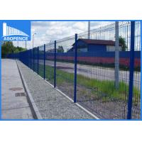 Wholesale Hot Dipped Galvanized Wire Fence Panels V Curved For Building Corrosion Protection from china suppliers