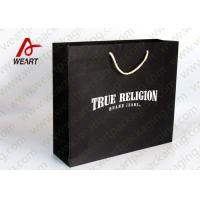 Quality Die Cut Handle Custom Printed Merchandise Bags , Retail Packaging Bags for sale
