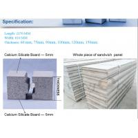 Wholesale Durable Fire Retardant EPS Cement Sandwich Panel , wall insulation boards Ecological from china suppliers