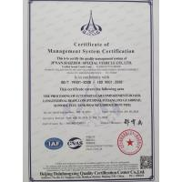 Jinan  G-Horizon  International  Trade  Company  Limited Certifications