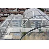 Wholesale Colored Commercial Curved Tempered Glass For Sightseeing Elevators , GB15763.2-2005 from china suppliers
