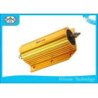 Wholesale 250W Wire Wound Power Resistor 0.01ohm - 68K Ohm Gold With Aluminum Housed​ Coiling from china suppliers