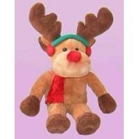 Quality Promotion Gifts Moose Reindeer Custom Plush Toys With 100% PP Cotton Fabric for sale