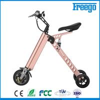 Wholesale P Moped Three Wheel Electric Scooter With Seat 500W Hub Motor withkey from china suppliers