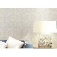 Wholesale Floral Wet Embossed Non - Woven European Style Wallpaper For Study Room from china suppliers