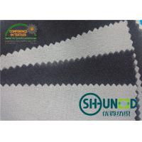 Quality Low Melt Adhensive Woven Interlining Fusing 90℃ ~ 100 ℃  For Leather Fabrics Or Garments for sale