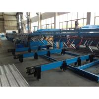 Wholesale Auto Stacker Double Layer Roll Forming Machine with Hydraulic Decoiler 15m/min from china suppliers