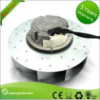 Wholesale similar EBM EC Motor Fan Blower , Backward Curved Centrifugal Duct Fan from china suppliers
