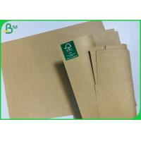 China Eco Recycled Brown Craft Paper 120G 200G Cardstock For Printing Book Cover on sale