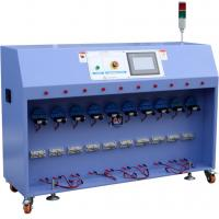 Wholesale PLC Control Bending Test Machine / Guided Bend Test Equipment 10 Stations from china suppliers