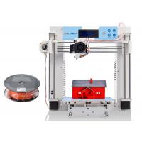 Wholesale Desk Top Metal Frame 3D Printer Prusa For Education DIY 1.75mm PLA / ABS Filament from china suppliers