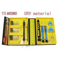 Wholesale yx 6028C professional universal mobile phone repairing tools /screwdrivers from china suppliers