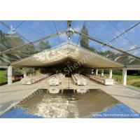 Wholesale Clear and White Top Fabric Cover Outdoor Aluminum Luxury Wedding Tents from china suppliers