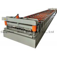 China Galvanized Metal Roofing Panel Roll Forming Machine Production Line on sale