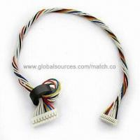 Buy cheap 8 Pin Wire Harness with Ferrite Core, OEM/ODM Orders are Welcome from wholesalers