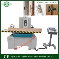 Wholesale wood door making machine hinge key lock hole mortiser cnc mortiser from china suppliers