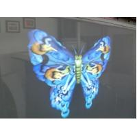 Wholesale White Grey 3d Holographic Film Net Screen Up To 10x50m Front Rear Projection from china suppliers