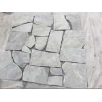 Buy cheap Green Quartzite Random Flagstone,Crazy Stone,Irregular Flagstones,Landscaping Stones from wholesalers