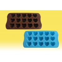 Wholesale silicone chocolate pops mold,ice cube tray from china suppliers