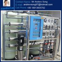 Quality Food processing industry ro system water treatment plants for sale