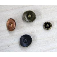 Wholesale Metal Rivet Custom Clothing Buttons Flat / 3D For Garments from china suppliers