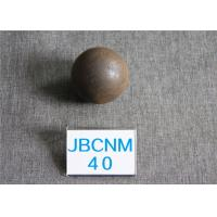 Wholesale Long Working Life 63HRC Surface Hardness Hot Rolling Steel Balls for Gold Mines / Coal Chemical Industry from china suppliers