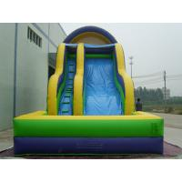 Wholesale Kids Backyard Inflatable Water Slide With Pool PVC Tarpaulin CE Certificate Blower from china suppliers