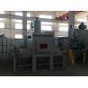 Buy cheap Conveyor Belt System Rubber Conveyor Belt Dustless Sandblasting Machine / Transmission Sandblasting Machine from wholesalers