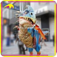 KANO4075 Outdoor Playground Attractive Adult Dinosaur Costumes For Sale