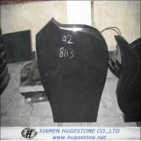 Wholesale Tombstone & Monuments, Polished Absolute Black Granite Tombstone from china suppliers