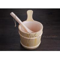 Wholesale 3 L Nordic Type spa Bucket With Ladle For Traditional Sauna Room from china suppliers