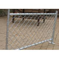 Wholesale ASTM F668 PVC coated chain link fence with 6 ga wire extruded and bonded from china suppliers