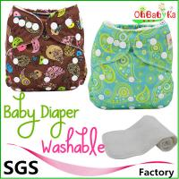 Buy cheap OhbabykaWashbale Polyester Reusable perfect reusable cloth diaper from wholesalers