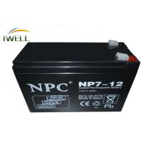 Wholesale Sealed 12VDC AGM Absorbed Glass Mat Batteries UPS / Inverter Battery from china suppliers