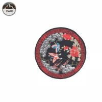 China Pretty Badge Embroidery Patch Iron/Sew on Clothes#10022 on sale