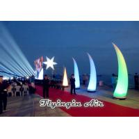 Wholesale 4m Inflatable Light Cone with Plastic Blower for  Big Event and Show from china suppliers