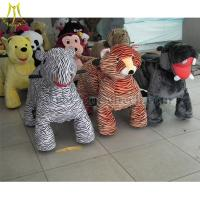 Wholesale Hansel High Quality Hot Selling Coin Operated zippy animal rides battery motorized ride on animals walking car from china suppliers