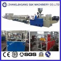 Wholesale Full Automatical PVC Pipe Extrusion Machine , PVC Pipe Extruder Production Line from china suppliers