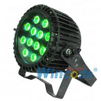 Wholesale Stable quality Outdoor IP65 12*15W led 5in1 RGBWA Mini Flat Par Light Powercon from china suppliers