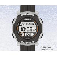 Wholesale Digital Ladies Radio Controlled Watches , 10 ATM Water Resistant from china suppliers